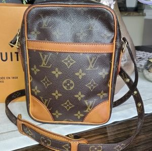Sold💜Authentic Louis Vuitton  DANUBE Shoulder Bag